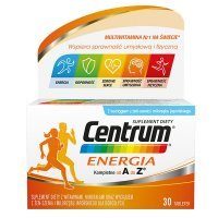 Centrum Energia, Kompletne od A do Z, 30 tabletek