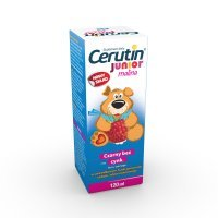 Cerutin Junior Malina płyn 120ml(butelka)