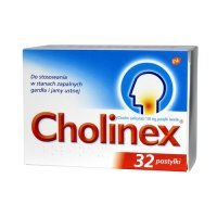 Cholinex 32 pastylki do ssania