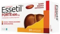 Essetil Forte 600mg, 30 kapsułek