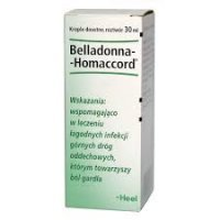 HEEL Belladonna -Homaccord krople 30 ml