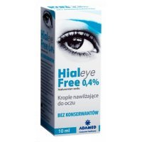 Hialeye, Free 0,4%, krople do oczu, 10ml