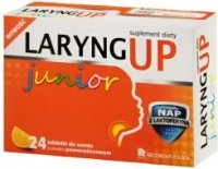 LARYNG UP Junior 24 tabletki do ssania