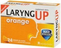 LARYNG UP Orange 24 tabletki do ssania