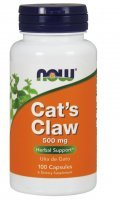 Now Foods, Cat's claw - vilcacora (koci pazur) 500 mg, 100 kapsułek