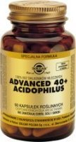 SOLGAR Advanced 40+ Acidophilus 60 kapsułek