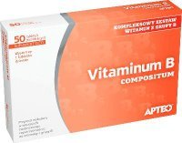 Vitaminum B compositum, Apteo, 50 tabletek